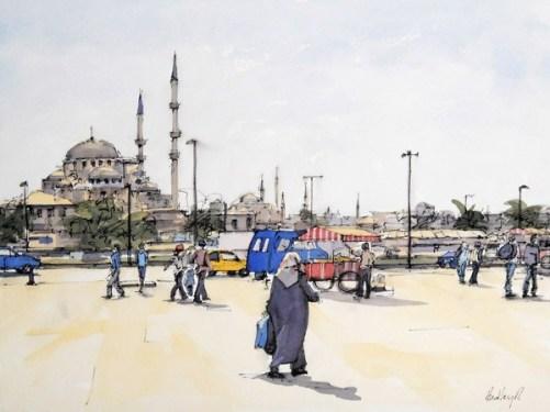 Hadley Rampton_Adhan At Dusk Istanbul