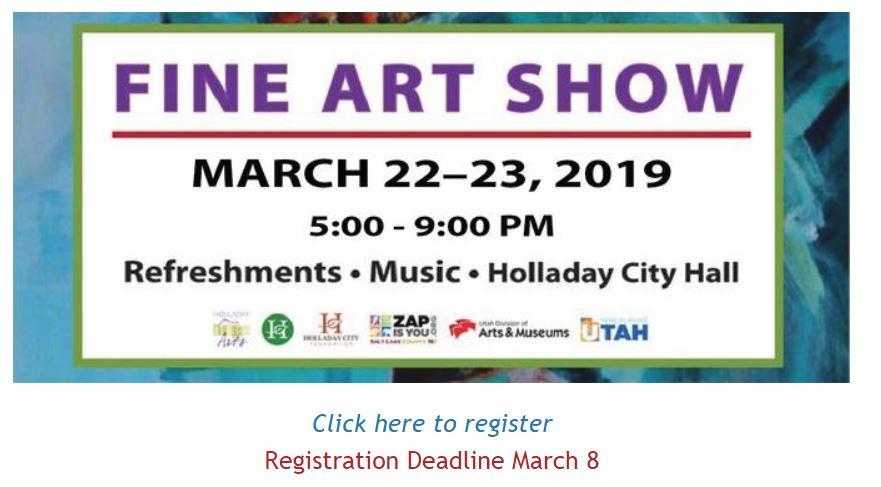 holladay fine arts show