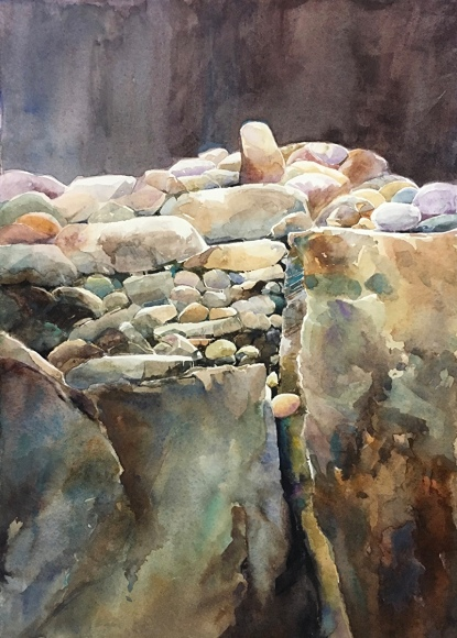 Mary Pusey_Between a Rock and a Hard Place