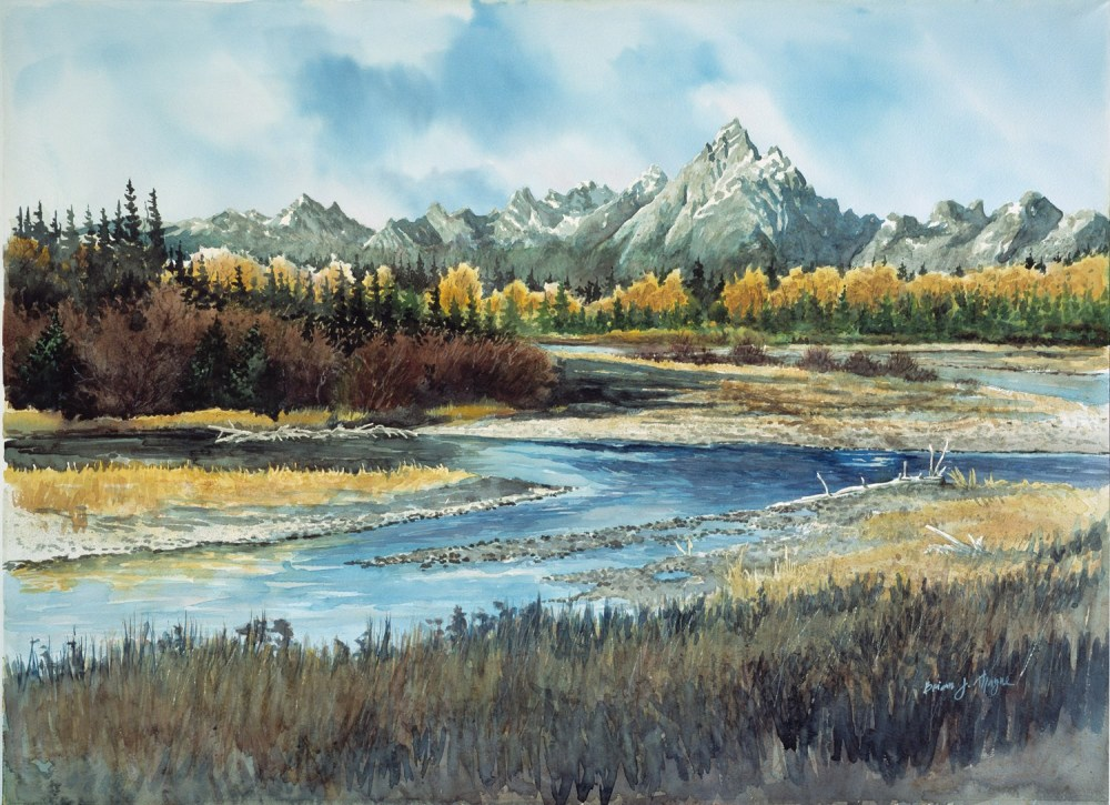 Brian Thayne_Buffalo Ford River Grand Tetons
