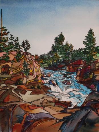 Sandy Sleeper_Firehole River Falls