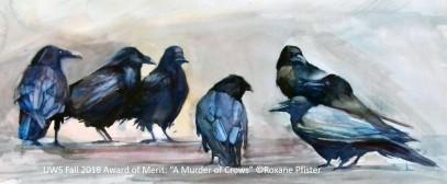 UWS Fall 2018_Award of Merit_A Murder of Crows_Roxane Pfister