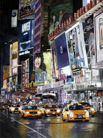 Laurie Goldstein-Warren_Night-Lights-NYC