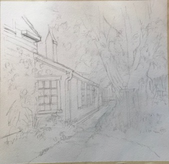 EMily Thomas CB House demo drawing