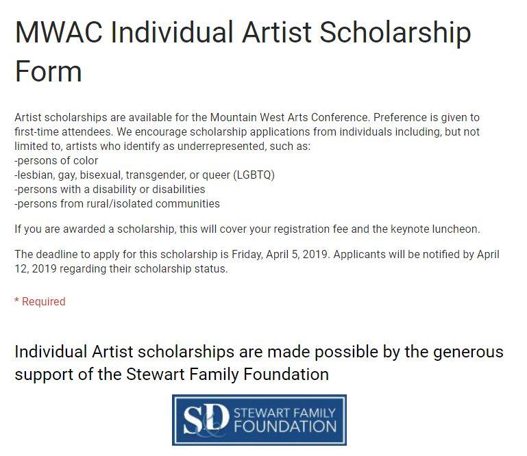 mwac scholarship