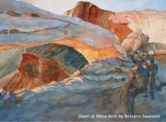 Bessann Swanson_Dawn at Mesa Arch