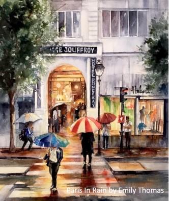 Emily Thomas_Paris in Rain
