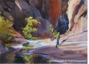 Kristi Grussendorf_Utah Red Cliffs