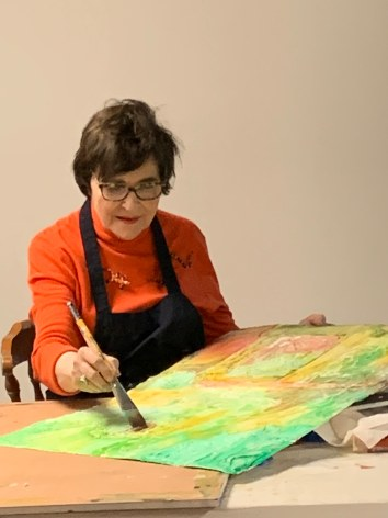 Betsy Dillard Stroud_painting in action_5-10-19