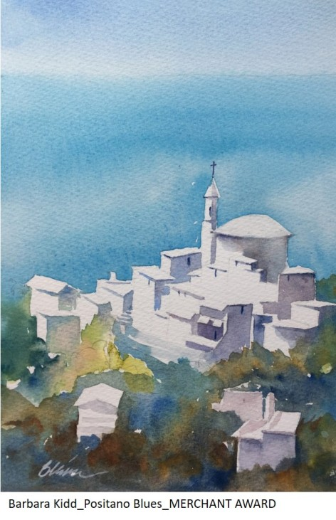 Barbara Kidd_Positano Blues_MERCHANT AWARD