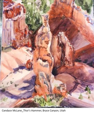 Candace McLane_Thor's Hammer, Bryce Canyon, Utah