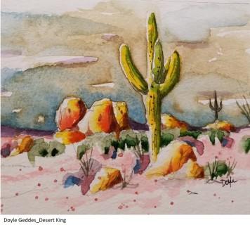 Doyle Geddes_Desert King