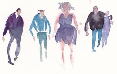 sketchbook people