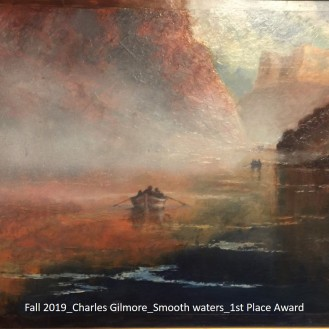 Fall 2019_Charles Gilmore_Smooth waters_1st Place Award_labeled