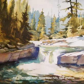 Fall 2019_Jodie West_Provo River Falls_Best of Show_labeled