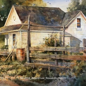 Fall 2019_Roland Lee_House on Hwy 89_labeled