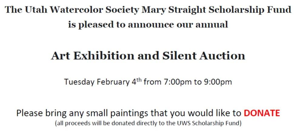 UWS Art Auction pic 1