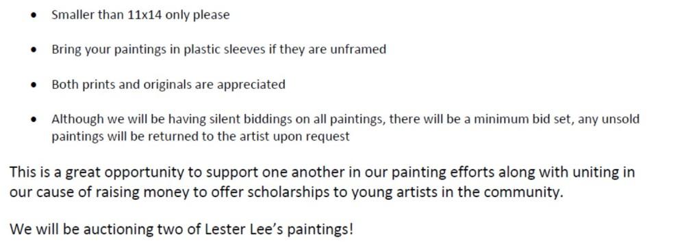 UWS Art Auction pic 2