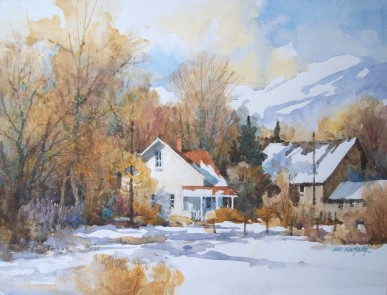 Juror's Award - Ian Ramsay for Northern Valley Winterscape